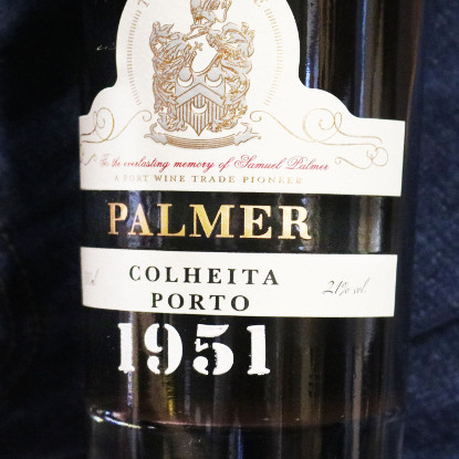 1951 wine 70th birthday wine and port gift