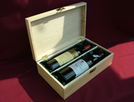 Wine and port double gift box