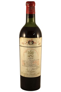 Chateau Mouton Rothschild , 1952