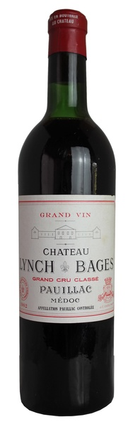 Chateau Lynch-Bages, 1962