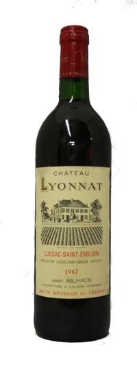Chateau lyonnat 1962 vintage wine and port for Chateau lyonnat