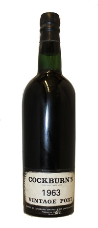 Cockburn Vintage Port, 1963