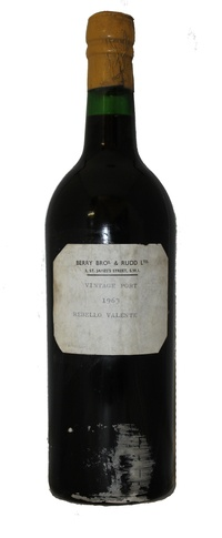 Rebello Valente Vintage Port, 1963