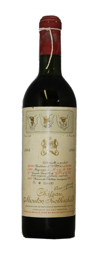 Chateau Mouton Rothschild , 1964