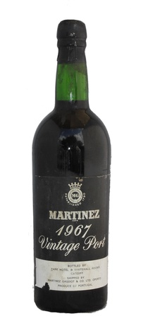 Martinez Vintage Port, 1967