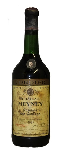 Chateau meyney 1969 vintage wine and port for Chateau meyney