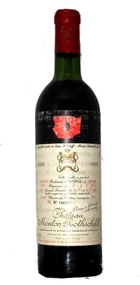 Chateau Mouton Rothschild , 1972
