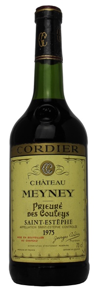 Chateau meyney 1975 vintage wine and port for Chateau meyney