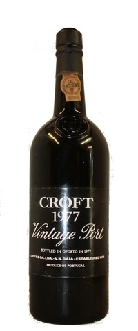 Croft Vintage Port, 1977