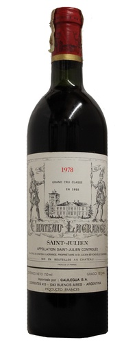 Chateau Lagrange , 1978