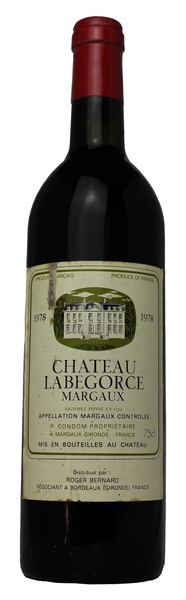 Chateau Labegorce, 1978