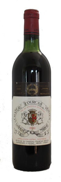 Chateau Fourcas Hosten Listrac, 1981