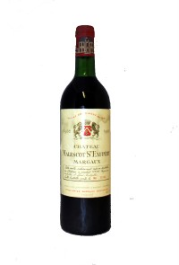 Chateau Malescot St-Exupery , 1982