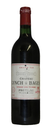 Chateau Lynch-Bages, 1983