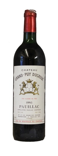 Chateau Grand Puy Ducasse, 1985