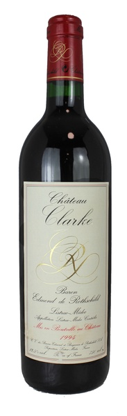 Chateau clarke 1994 vintage wine and port for Chateau clarke