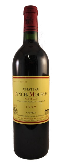 1999 Chateau Lynch Moussas, 1999