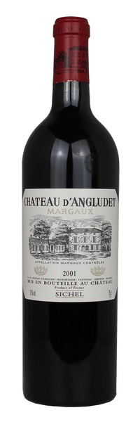 Chateau d'Angludet, 2001
