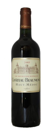 Chateau beaumont 2005 vintage wine and port for Chateau beaumont
