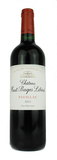 Chateau Haut-Bages Liberal, 2012