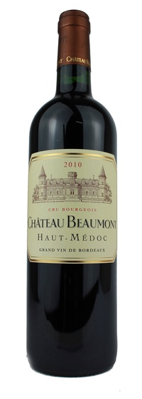 Chateau beaumont 2010 vintage wine and port for Chateau beaumont