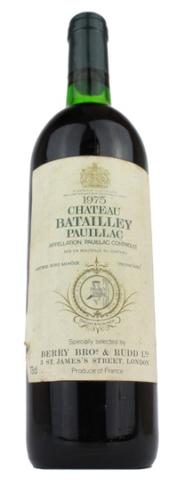 Chateau Batailley, 1975