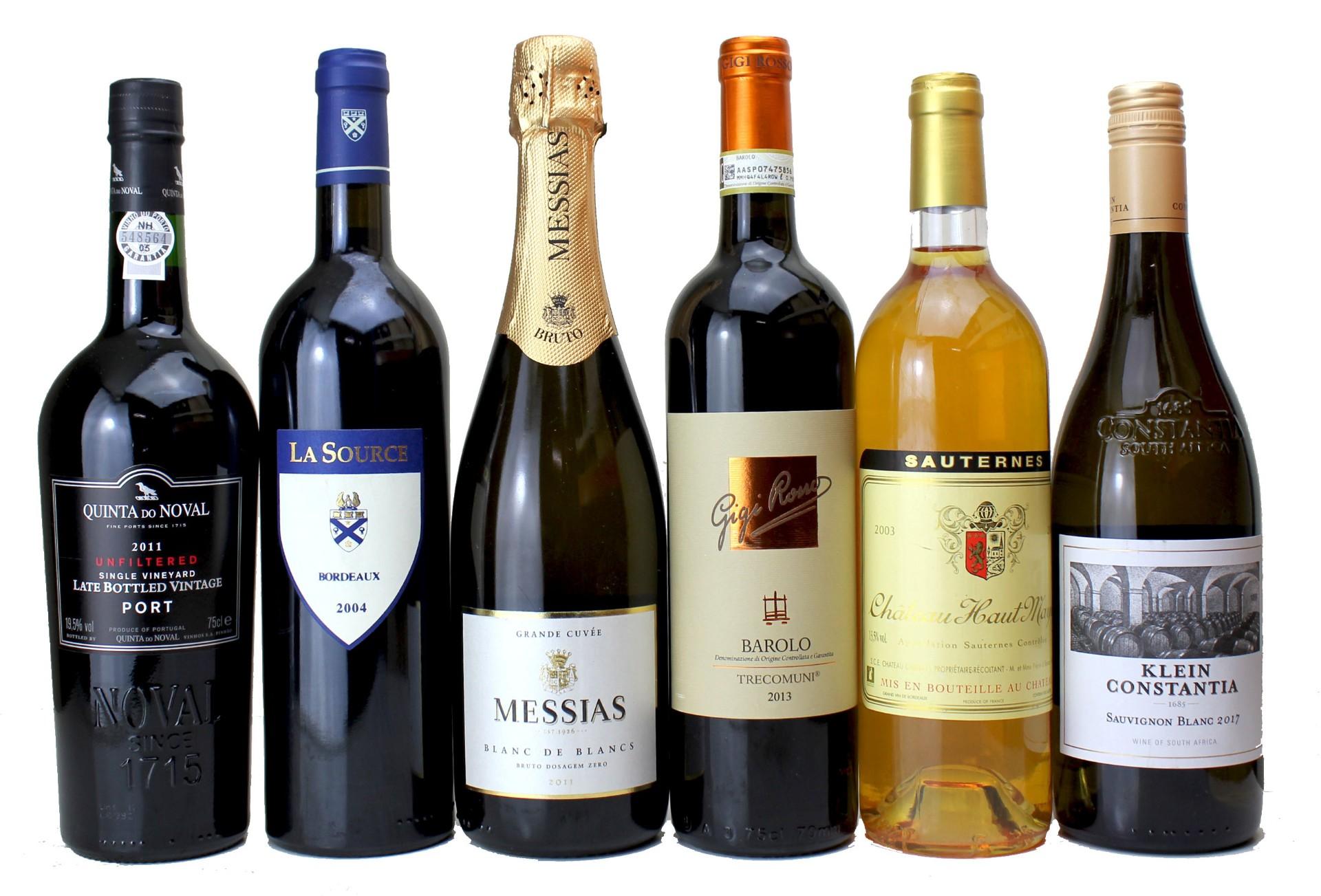 Festive Case, 0   Vintage Wine and Port