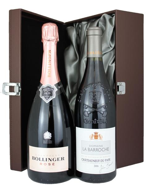 Champagne and Rhone Duo,  Non Vintage