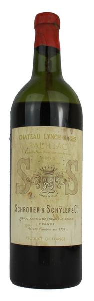 Chateau Lynch-Bages, 1953