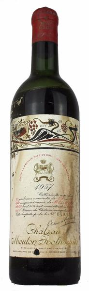 Chateau Mouton Rothschild , 1957