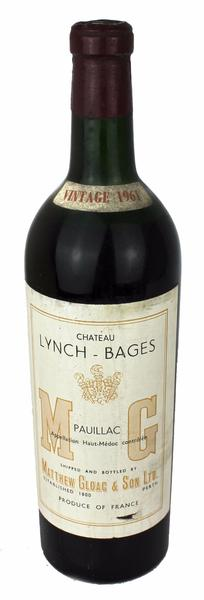Chateau Lynch-Bages, 1961