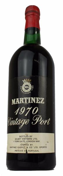 Martinez Vintage Port, 1970