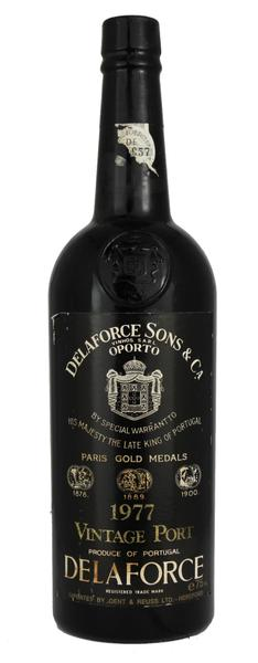 Delaforce Vintage Port, 1977