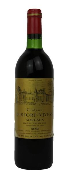Chateau Durfort Vivens , 1978
