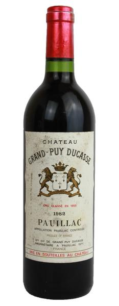 1982 Chateau Grand Puy Ducasse, 1982