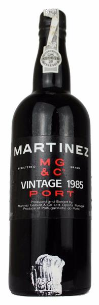 Martinez Vintage Port, 1985