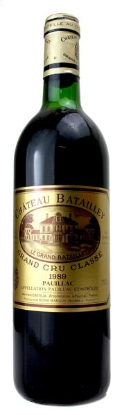 Chateau Batailley, 1989