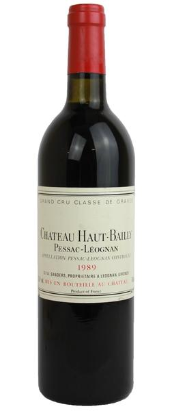 Chateau Haut Bailly, 1989