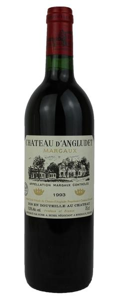 Chateau d'Angludet, 1993
