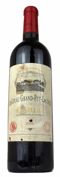 Chateau Grand Puy Lacoste, 2000