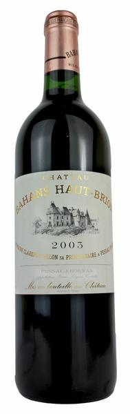 Bahans Haut Brion, 2003