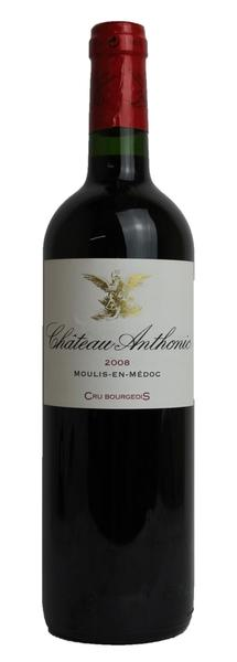 Chateau Anthonic, 2008