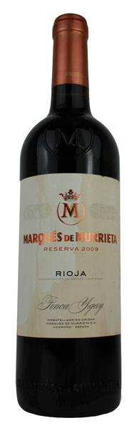 Marques de Murrieta, 2009