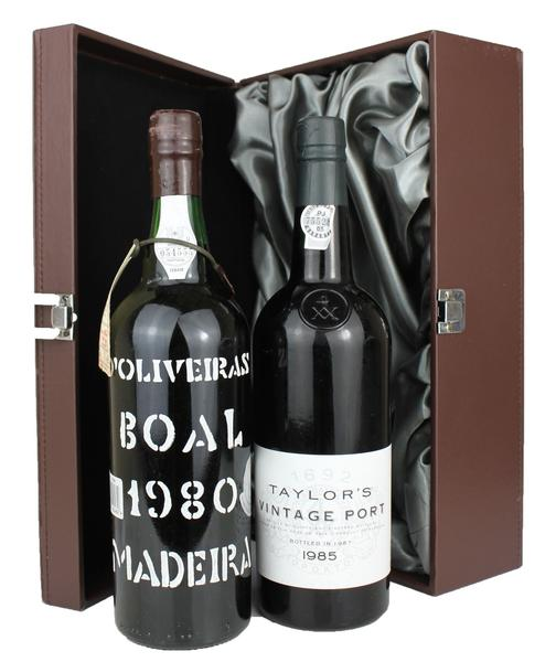 Deluxe Madeira and Port Duo 250, 0