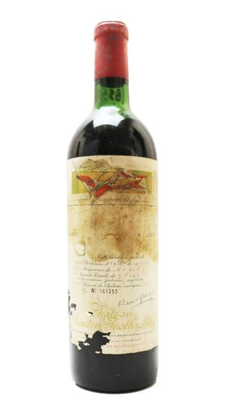 Chateau Mouton Rothschild , 1960