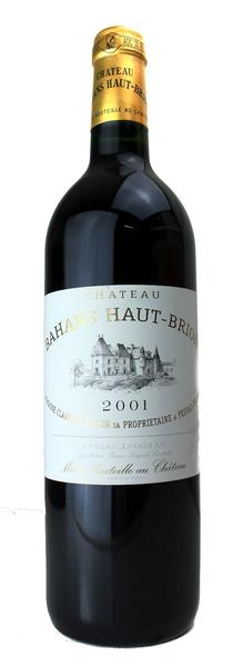 Bahans Haut Brion, 2001