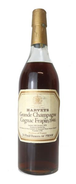 Frapin Grand Champagne Cognac , 1946