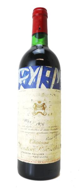 Chateau Mouton Rothschild , 1976