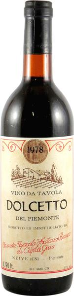 Dolcetto, 1978