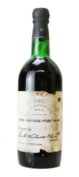 Smith Woodhouse Vintage Port, 1970
